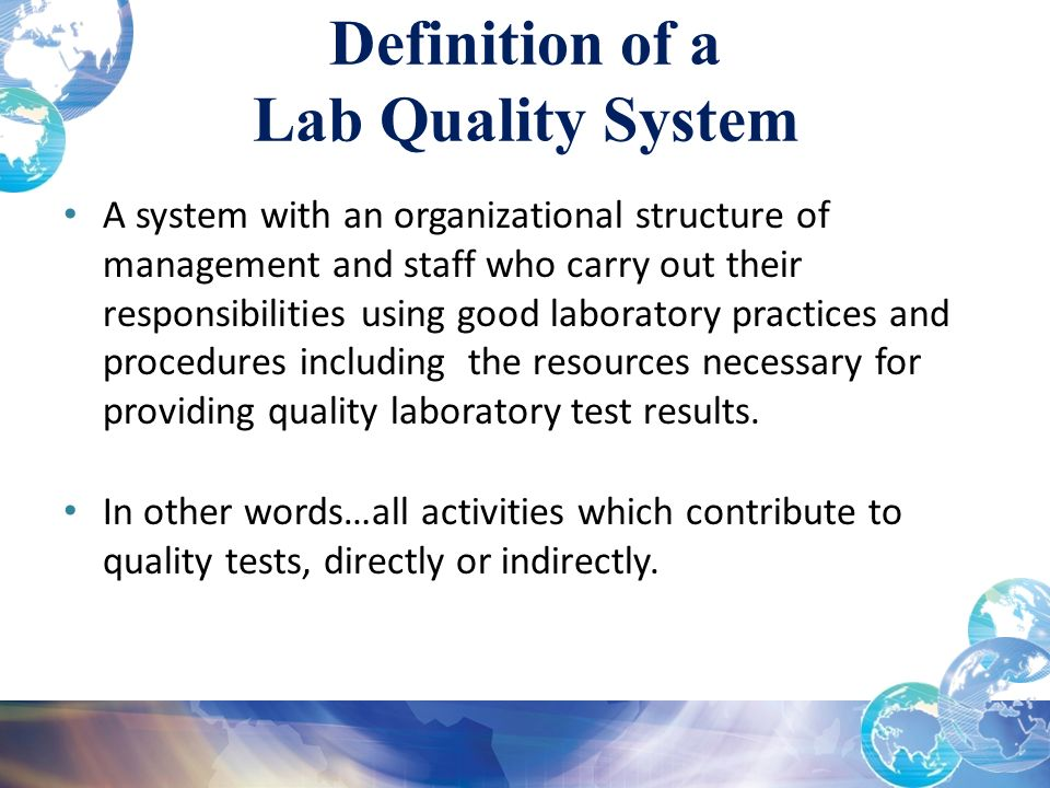 Module 4 Assuring The Quality Of Testing A Systems