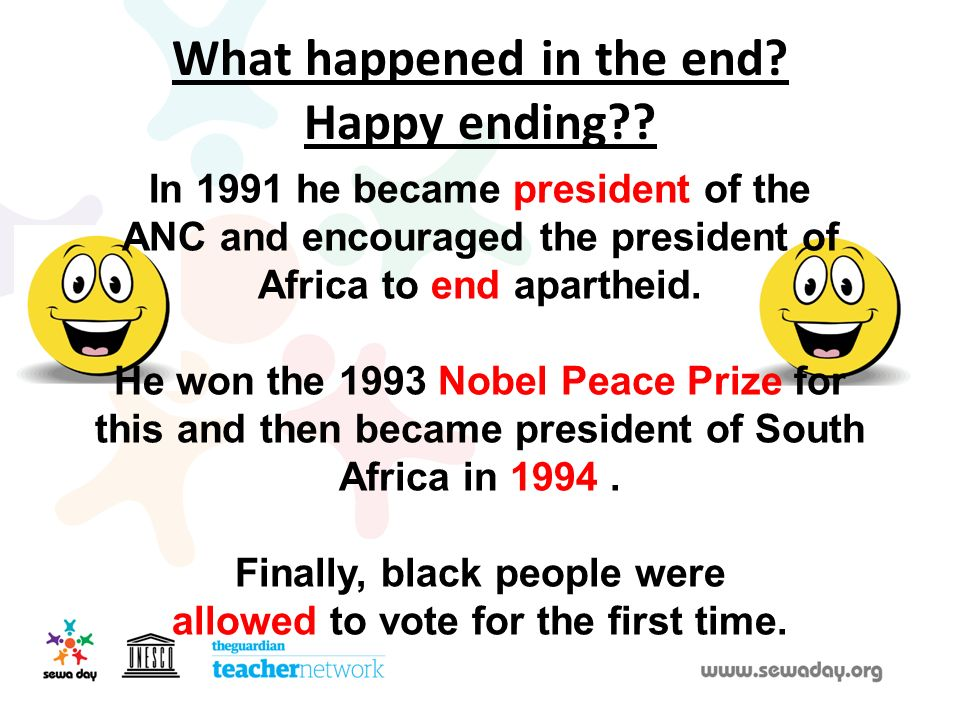 What happened in the end Happy ending