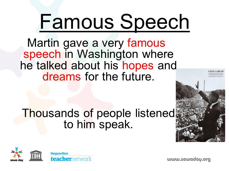 Famous Speech