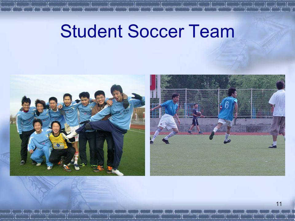 Student Soccer Team