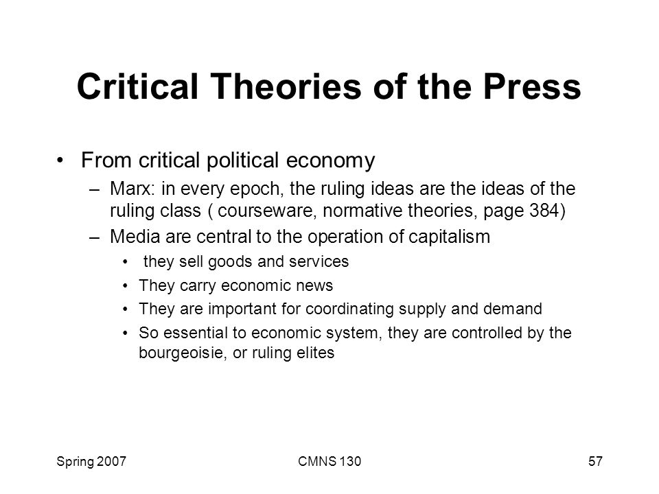 critical theories But it is no longer helpful, even if that is the case, to tarry among critical theories  that only address capitalism and have nothing to say about.