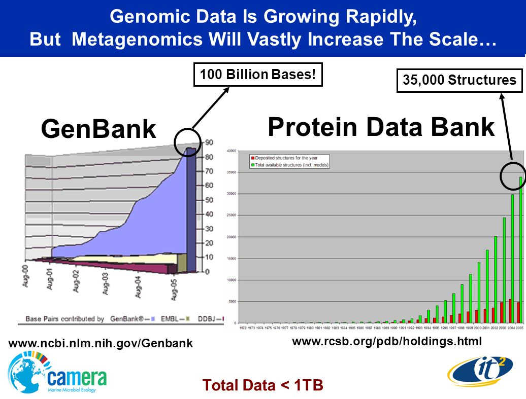 GenBank Protein Data Bank