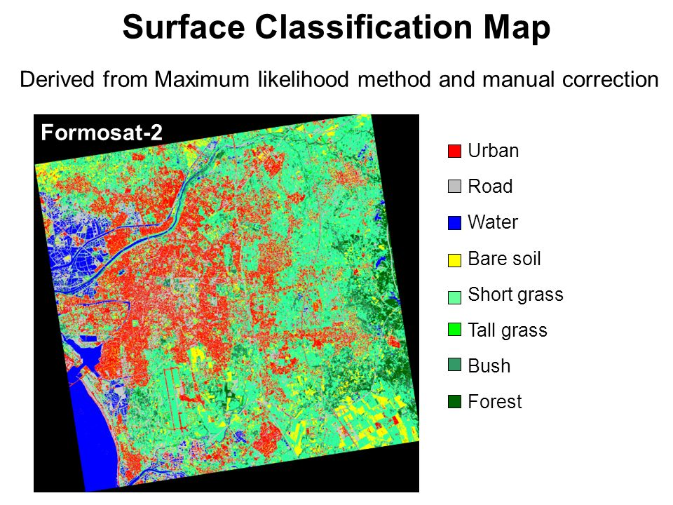 Surface Classification Map