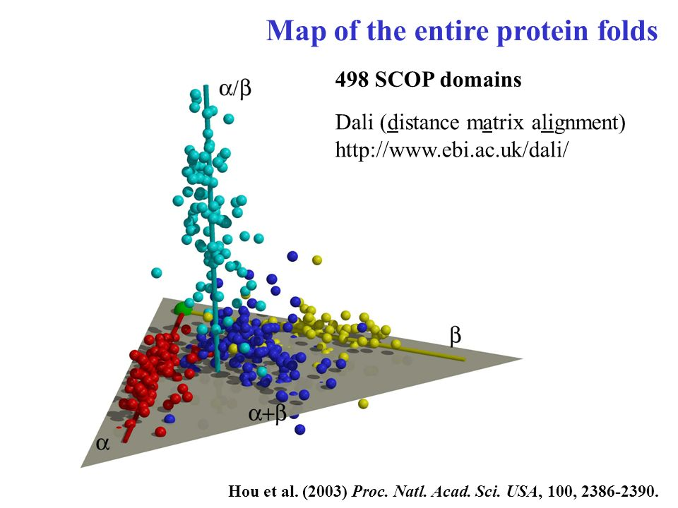 Map of the entire protein folds