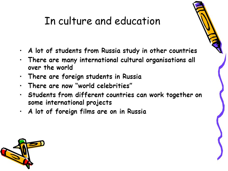 globalisation in russia For more information please go to: .