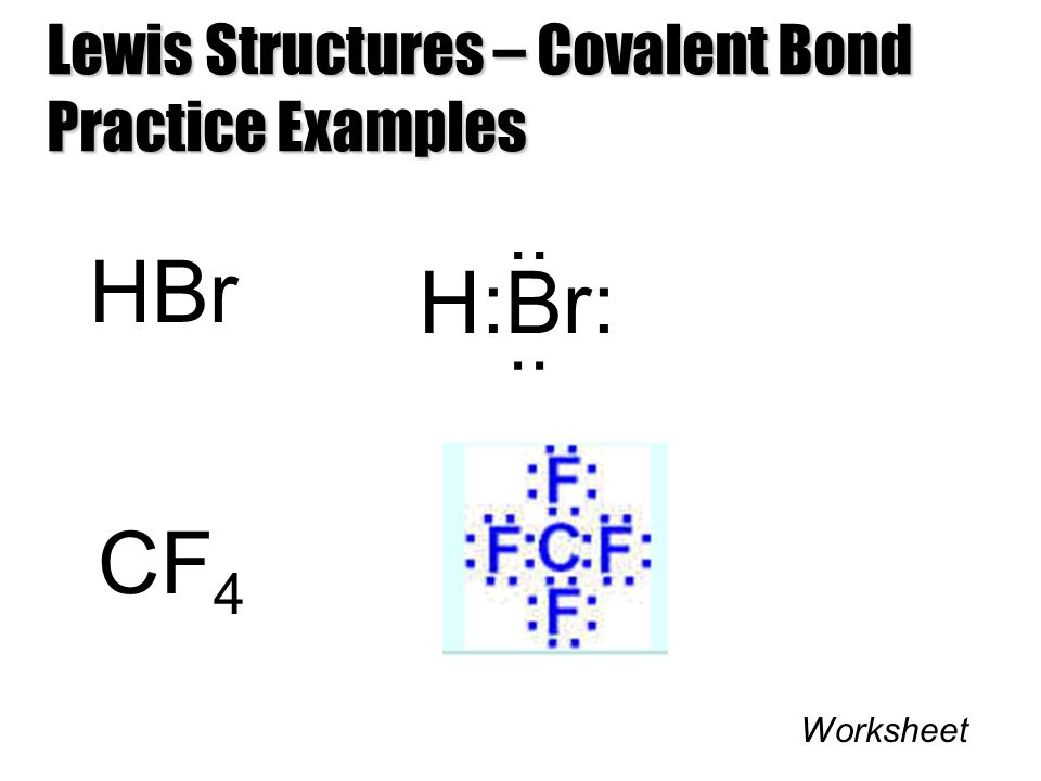 Lewis Dot Structure For Hbr