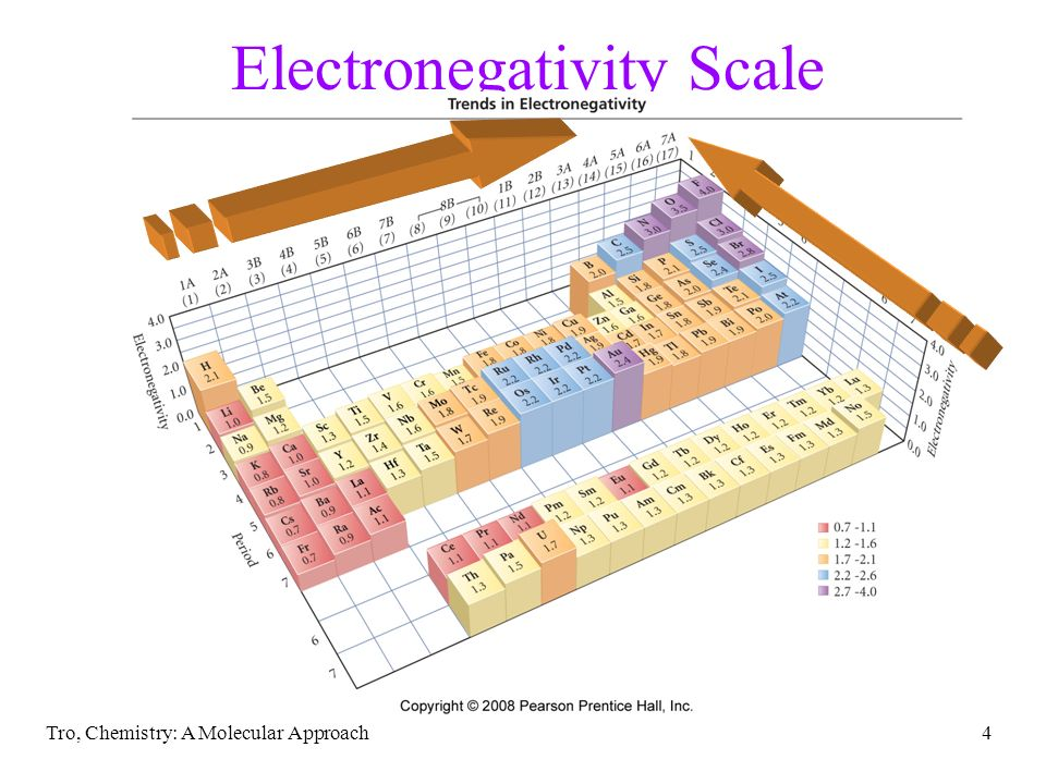 Electronegativity Scale
