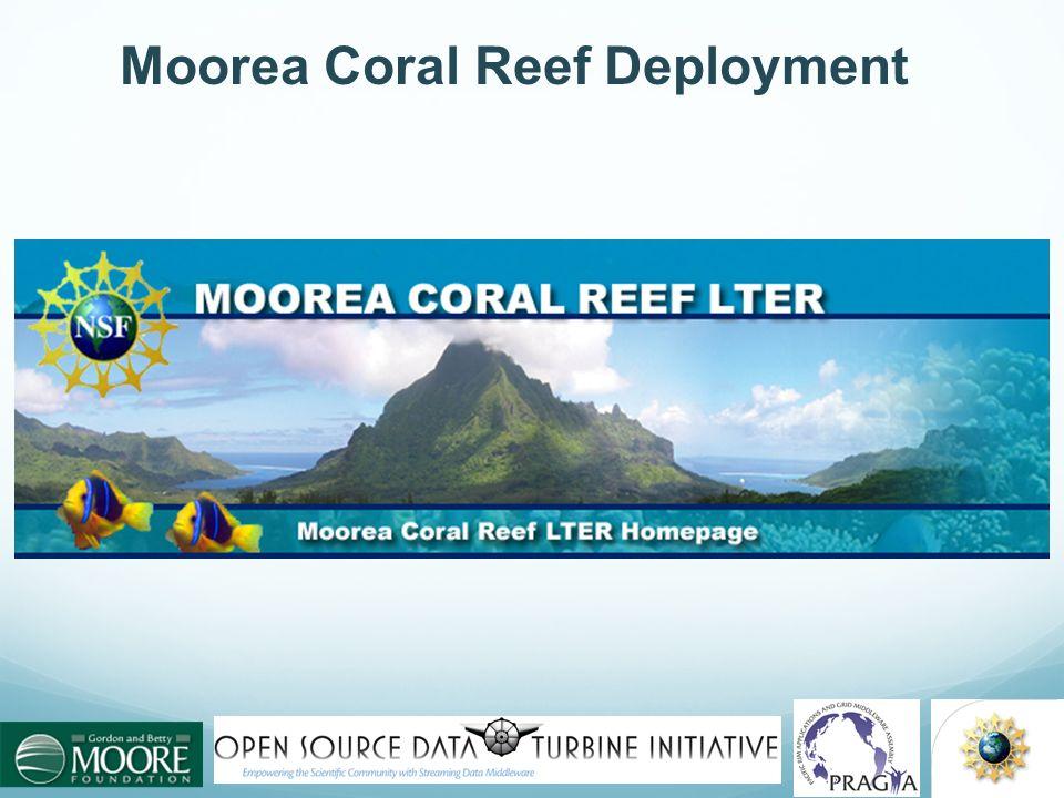 Moorea Coral Reef Deployment