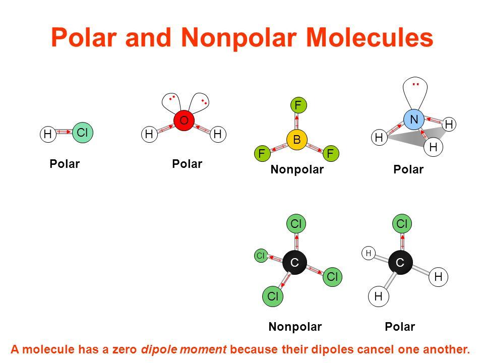 polar molecule how to tell