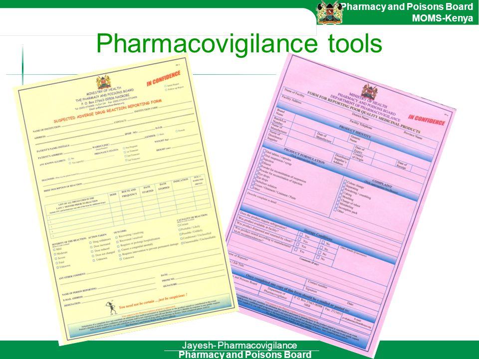 Pharmacovigilance tools