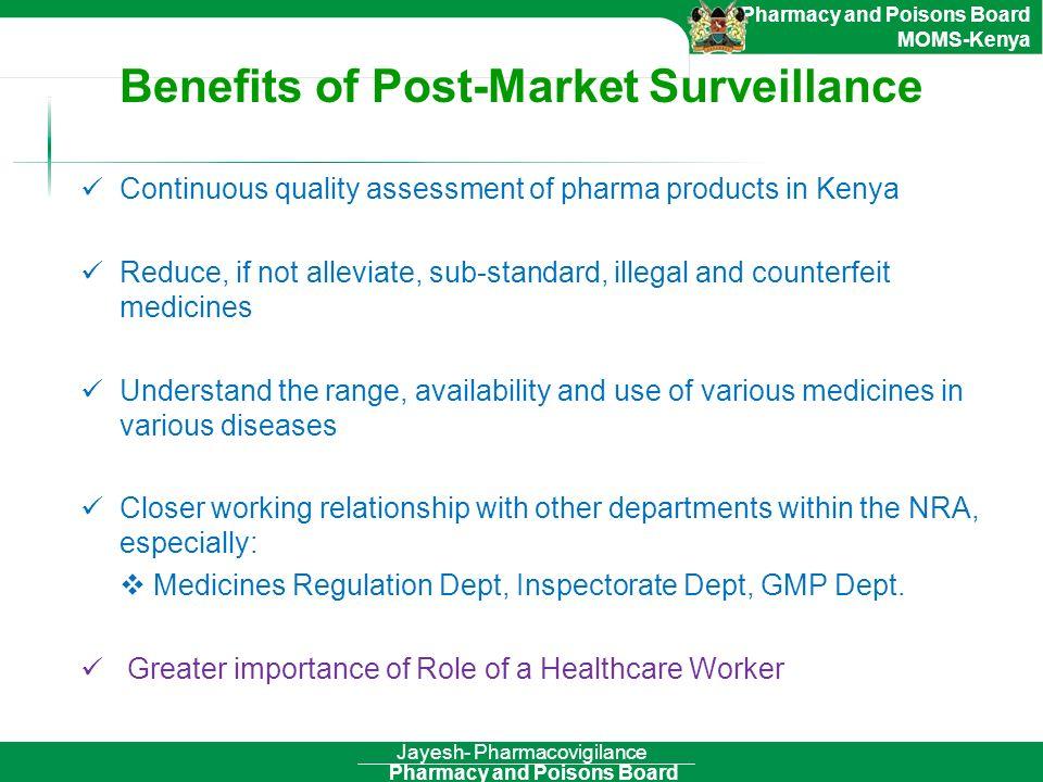 Benefits of Post-Market Surveillance