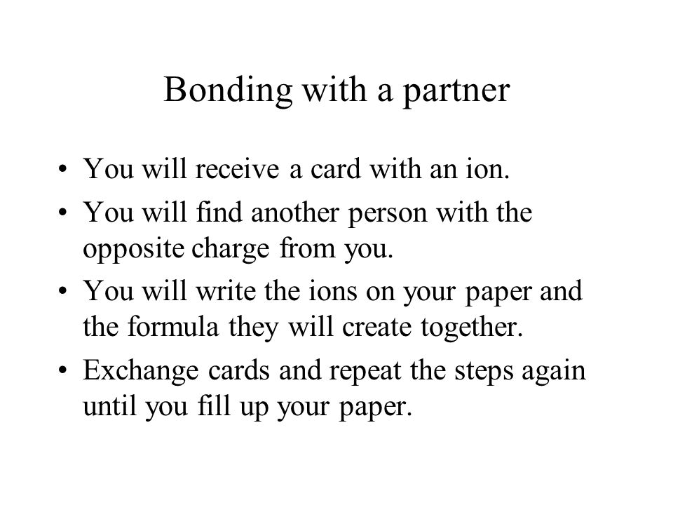 ionic bond essay
