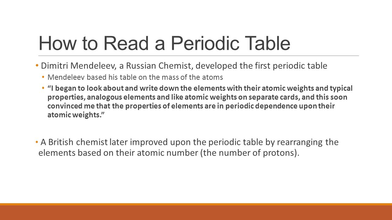 Atoms and the periodic table ppt video online download how to read a periodic table gamestrikefo Choice Image