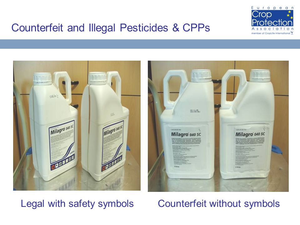 Counterfeit and Illegal Pesticides & CPPs