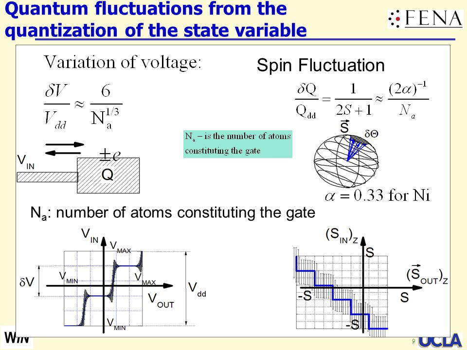 Quantum fluctuations from the quantization of the state variable
