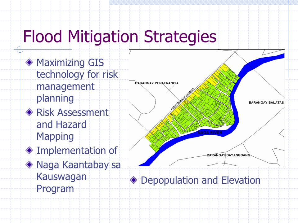 Flood Mitigation Strategies
