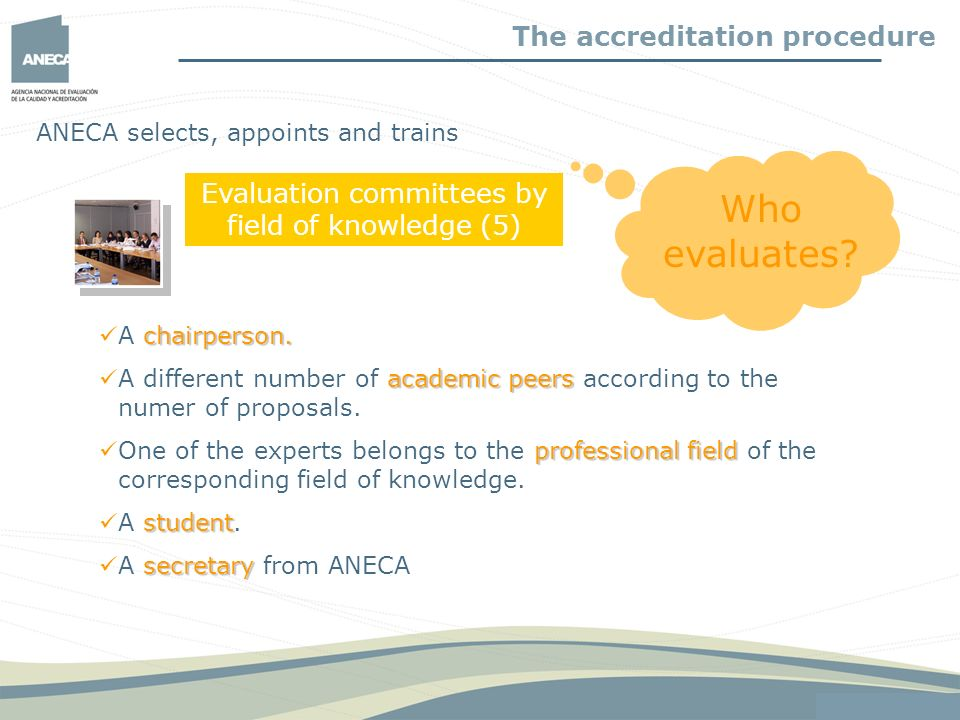 Evaluation committees by field of knowledge (5)