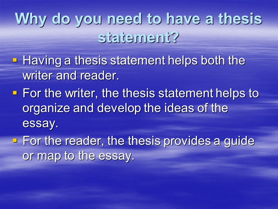 does a biography have a thesis statement I have finally found my ideal essay provider writecustom is simple, trusty and affordable i recommend it to all those who haven't decided on a writing service yet.
