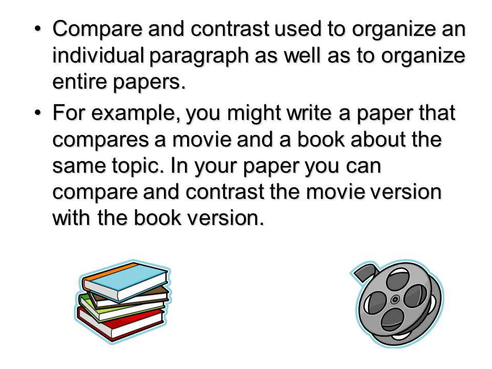 comparing books and movies essay