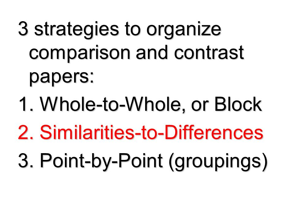 Compare and Contrast Essay Topics: 135 Fresh Ideas