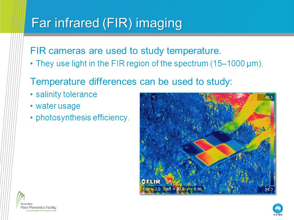 Far infrared (FIR) imaging