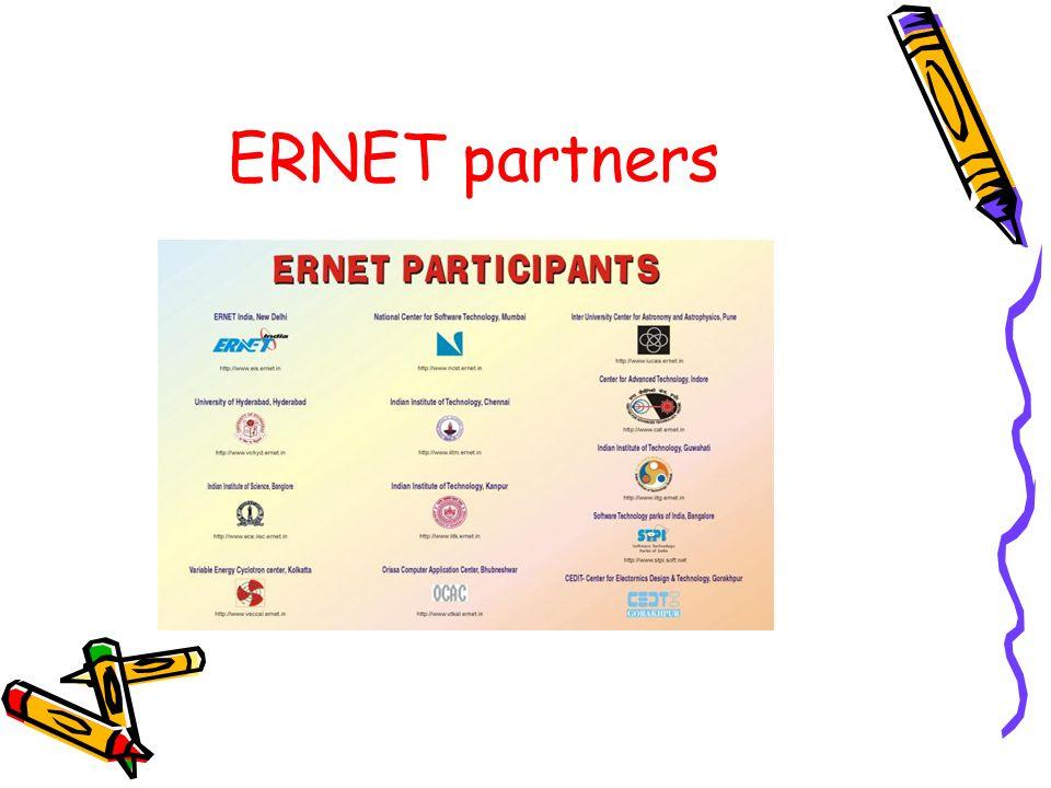 ERNET partners