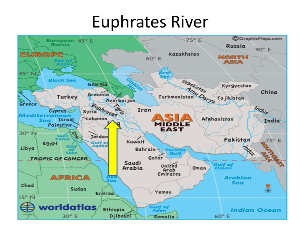 Image result for map of Israel, afghanistan, china and euphrates