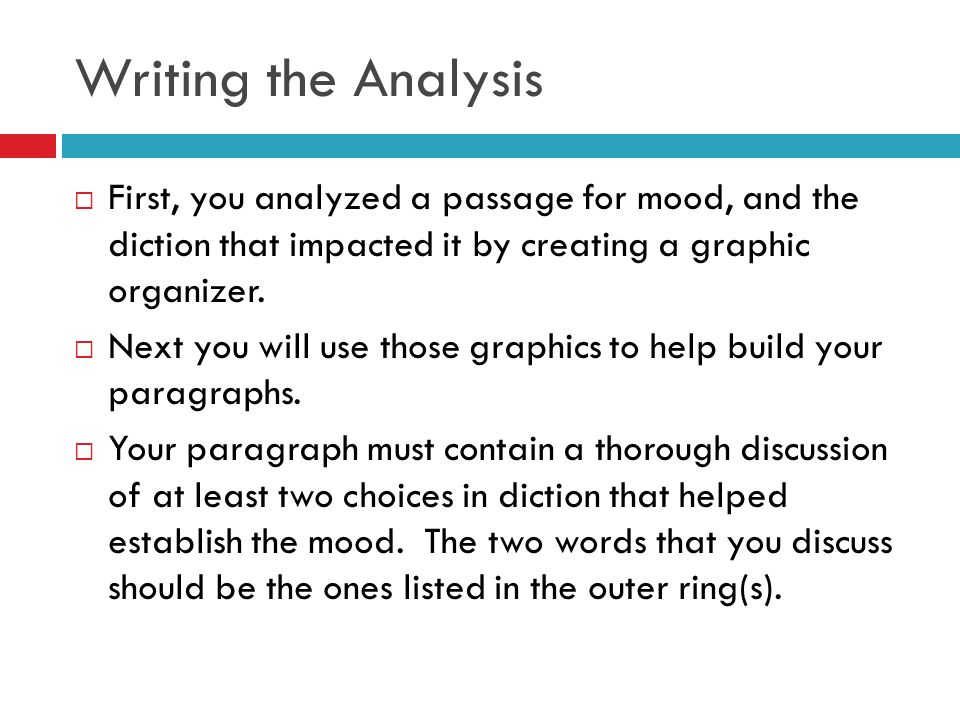Writing About Diction. - Ppt Download