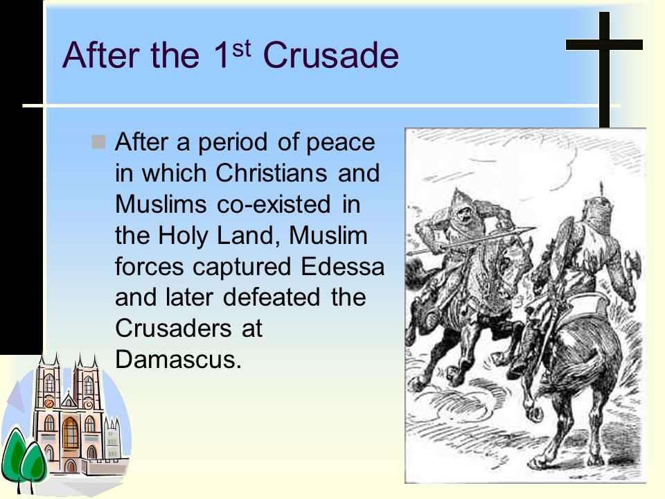 After the 1st Crusade