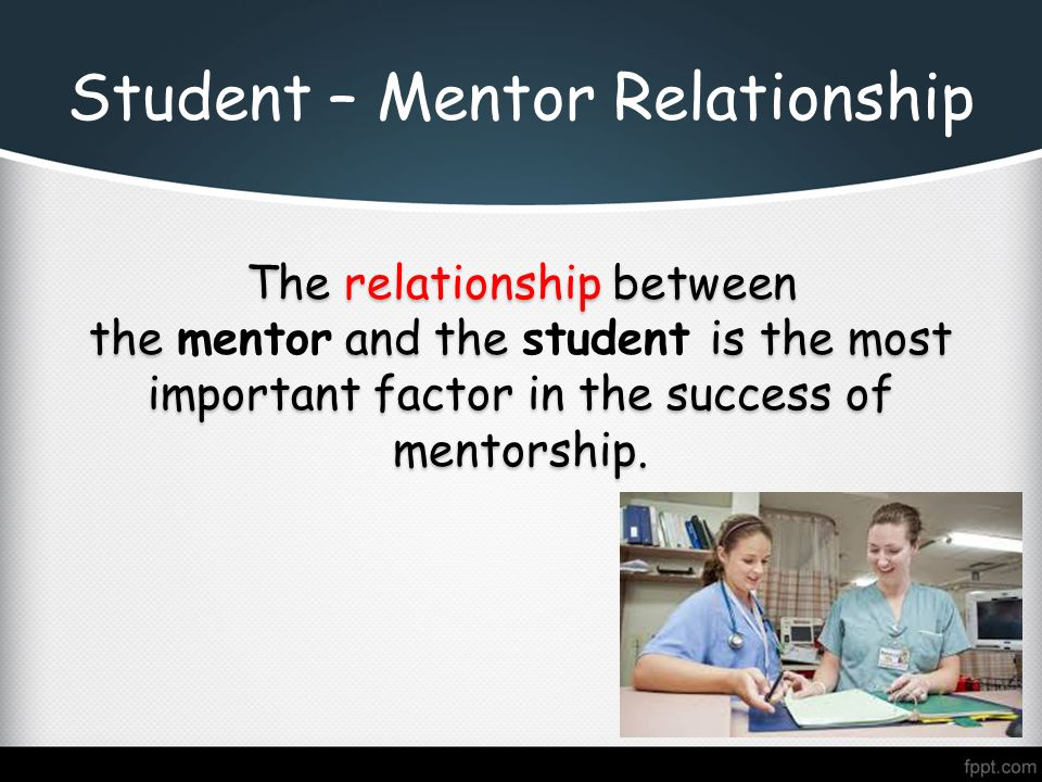 mentor and student relationship in nursing