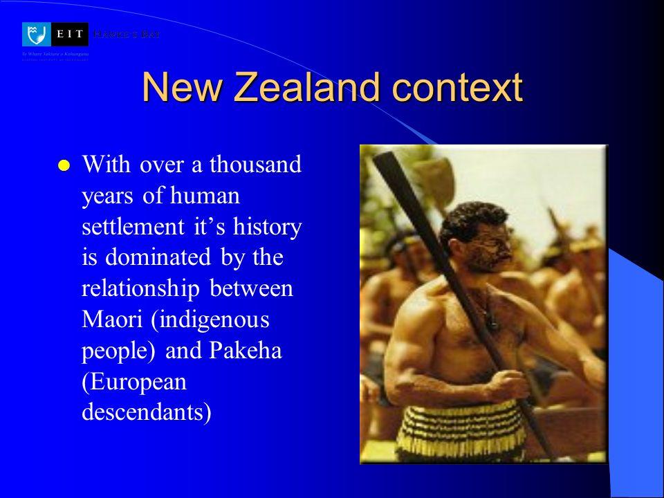 New Zealand context