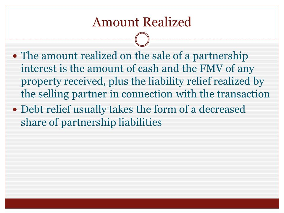 Chapter 12 Partnership Distributions - ppt video online download