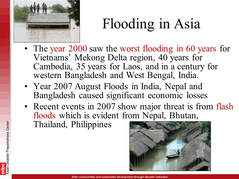 Flooding in Asia