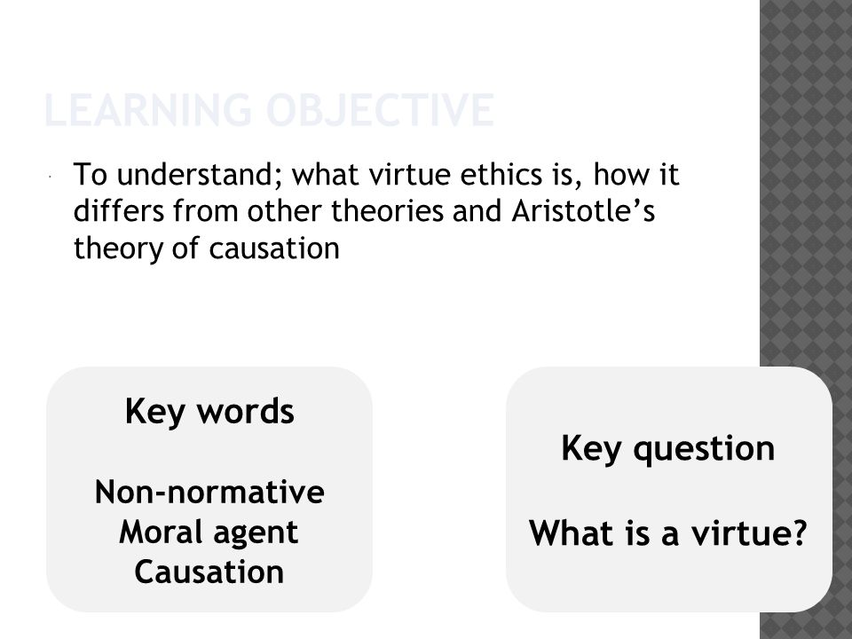 an examination of the theory of causality by aristotle In physics ii8-9 aristotle considers the ancient physicalist theory of the genesis  and development of natural organisms the proponents of this theory maintain.