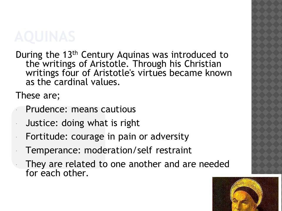 war and the virtues in aquinas's 3 for aquinas on virtue, see joseph pieper, the four cardinal virtues (notre  dame, in:  when it comes to the question of war, the orthodox are probably.