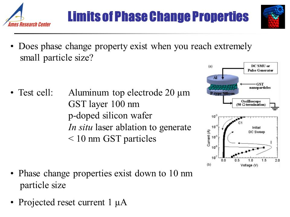 Limits of Phase Change Properties