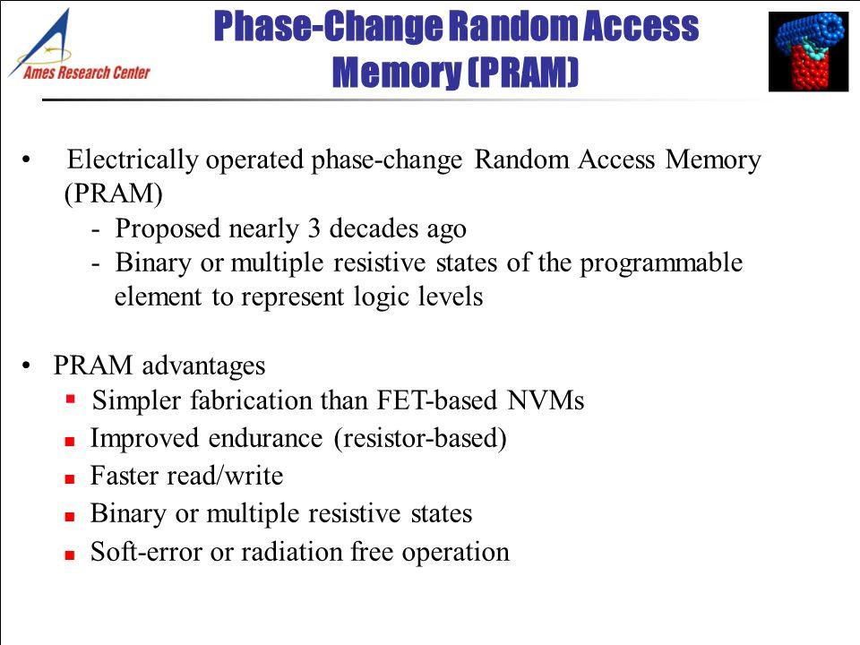 Phase-Change Random Access Memory (PRAM)