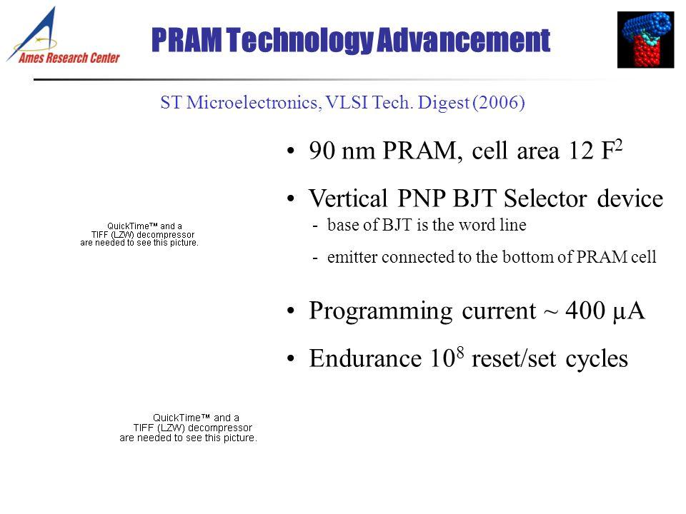 PRAM Technology Advancement