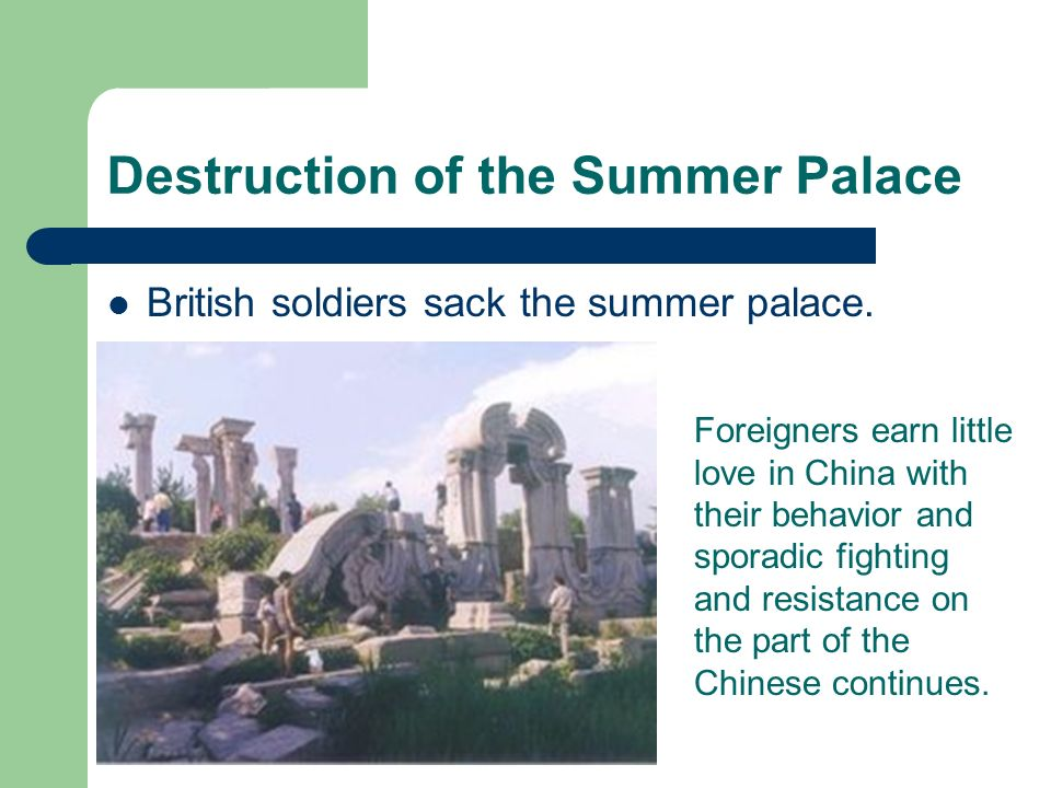 Destruction of the Summer Palace
