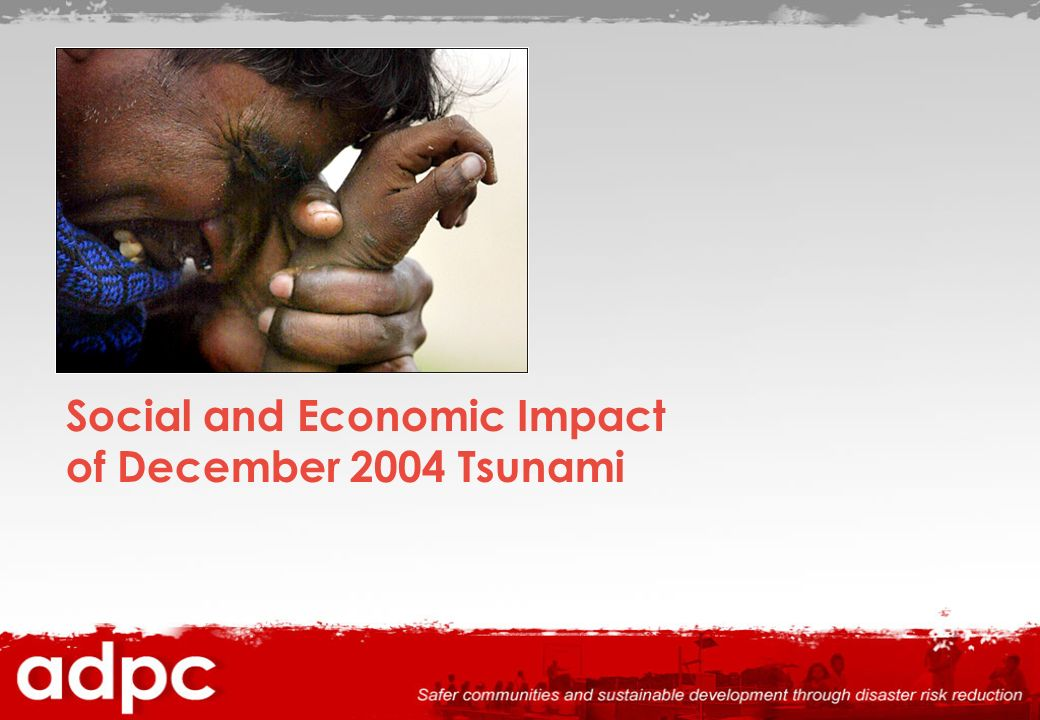 Social and Economic Impact of December 2004 Tsunami