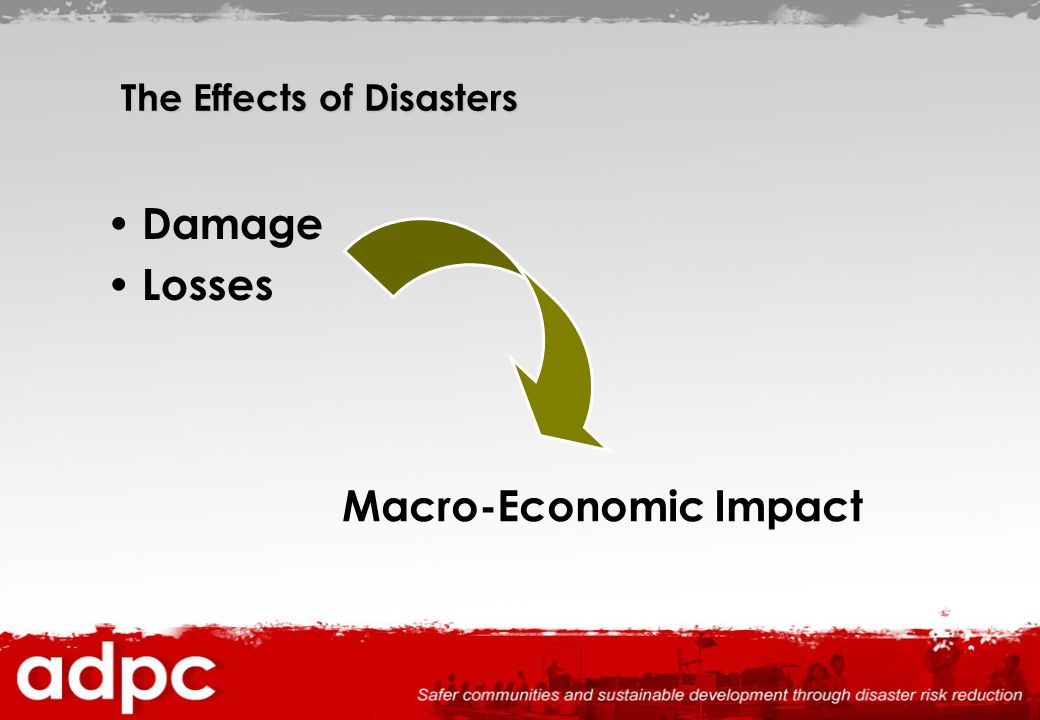 The Effects of Disasters