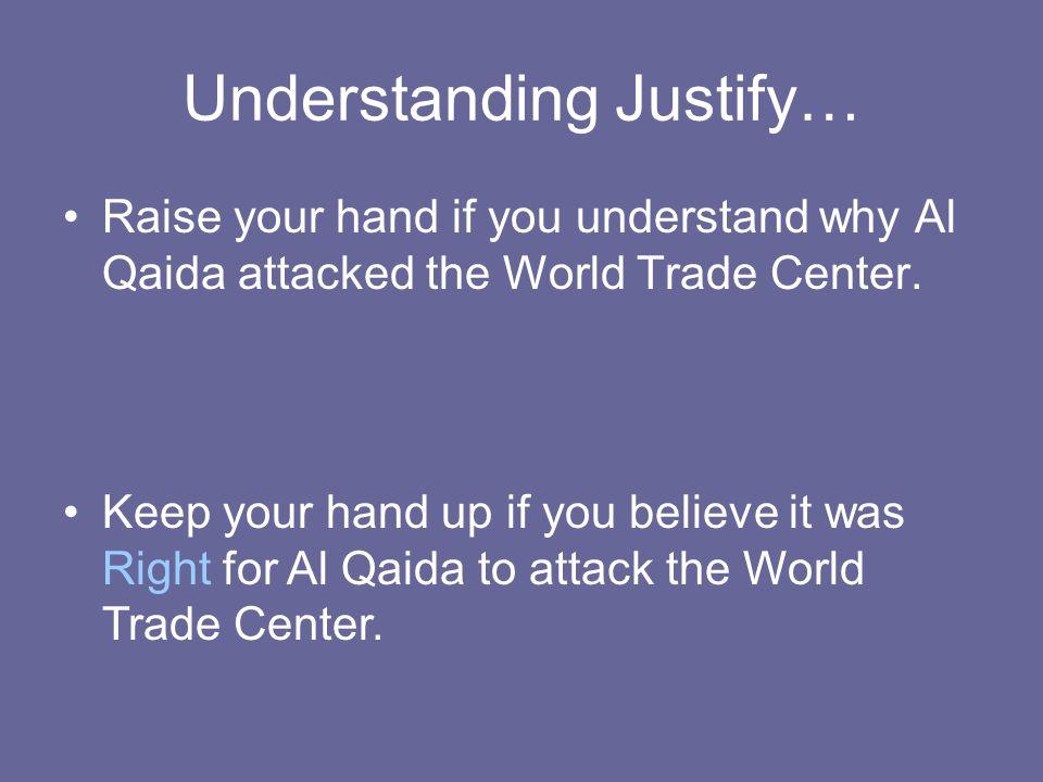 Understanding Justify…