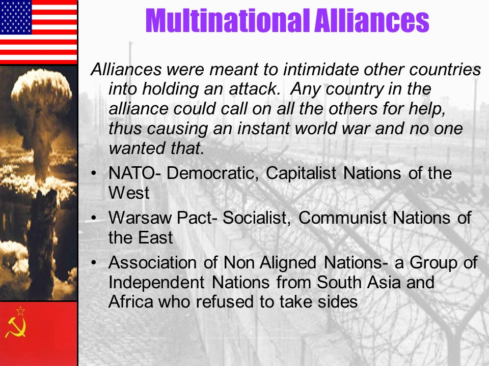 Multinational Alliances