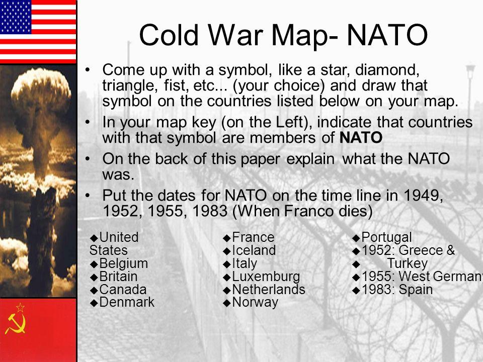 Cold War Map- NATO