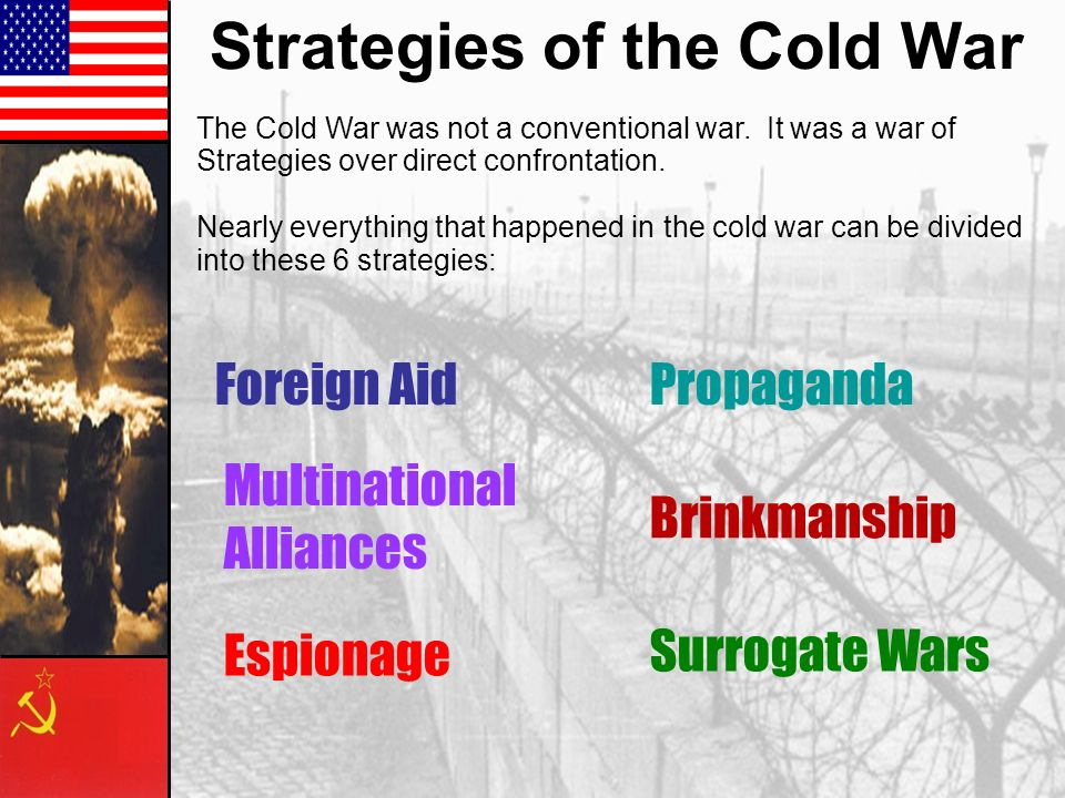Strategies of the Cold War