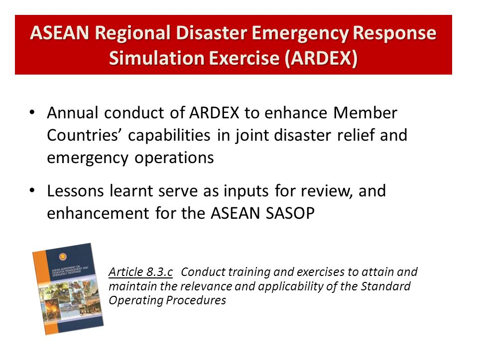 ASEAN Regional Disaster Emergency Response Simulation Exercise (ARDEX)