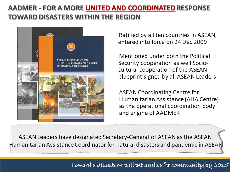 ASEAN Leaders have designated Secretary-General of ASEAN as the ASEAN