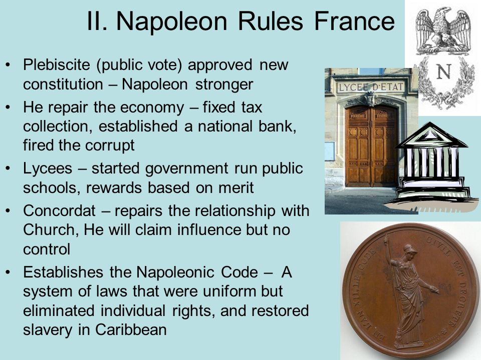 II. Napoleon Rules France