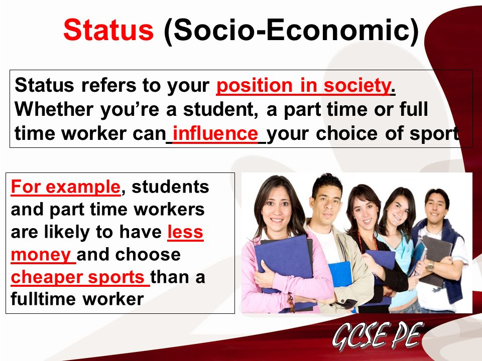 the effect of parent socio economic status Parental education and their socio-economic status participants were 250 students taken from randomly selected departments and research findings are to be generalized to the university of.