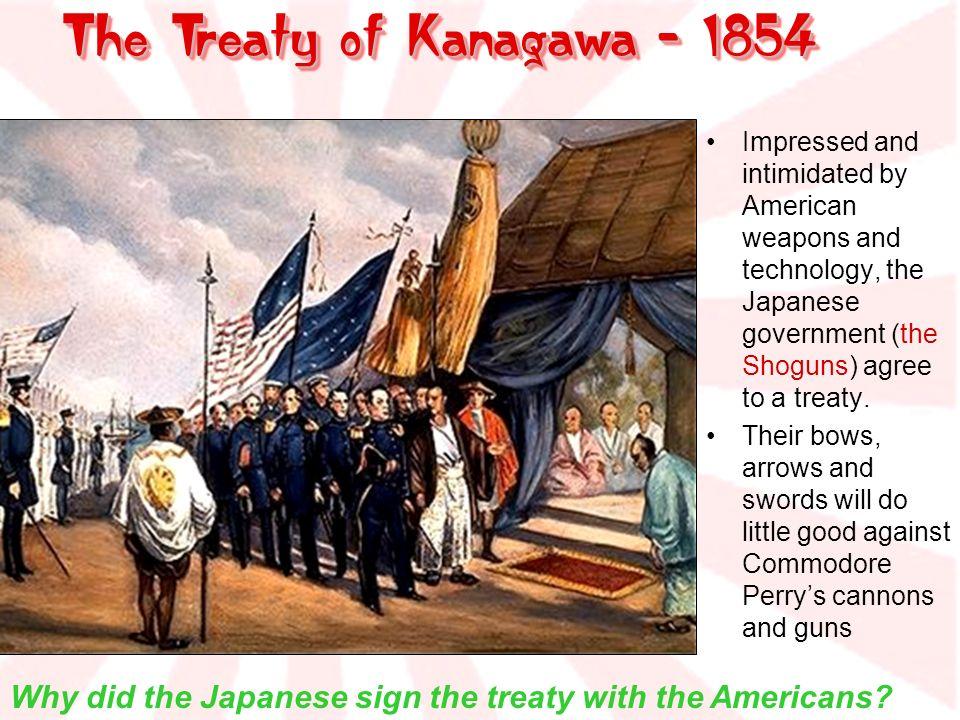 The Treaty of Kanagawa - 1854